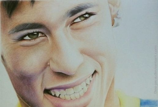 Neymar da silva by Dee-java
