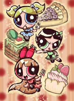 PPG cakes by Yang-Mei