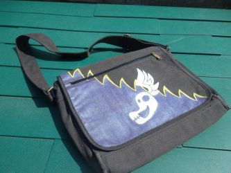 Shadowbolts Messenger Bag by OrangeAfterGlow