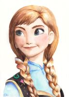 Anna - Frozen by ELLEliz