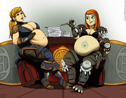 Commission:  Depleting the Inn's food supplies. by Sammy-Upvotes