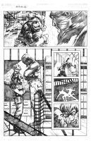 Punisher vs. Mandrill 2.0 pg. 2 by MaxAlanFuchs