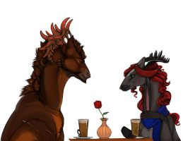 First Date by Teggy