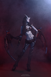 Queen of Pain - by MightyRaccoon by LetzteSchatten-stock