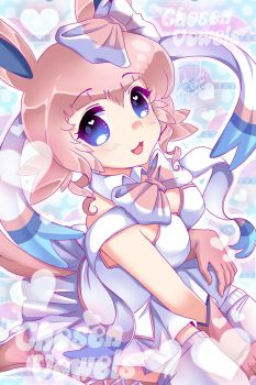 Feelinara/ Sylveon Gijinka by ChosenVowels