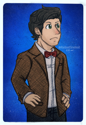 Eleventh Doctor by RadiantGradient