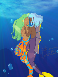 A Late Colored MerMay Thing by CatelynnSama