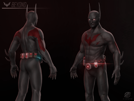 Batman Beyond 3D by IzaSpringintveld