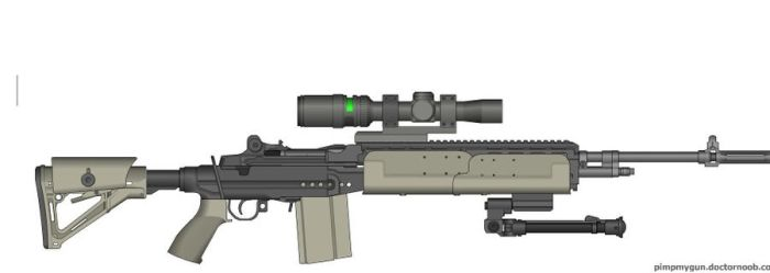 M-14 EBR From MW-2 by ColtM4A2