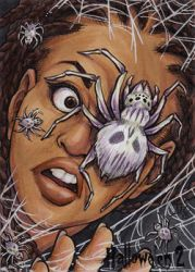 Face Spiders for all! by AmyClark