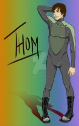 Thom: Hero by Perry Moore by Kimballgray