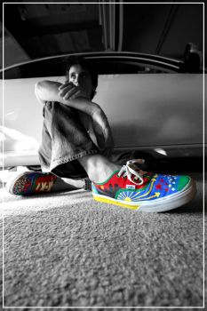 colour shoes by Indeedproductions
