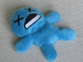 Binding of Isaac plush - Blue baby by SmellenJR
