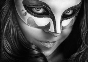 Girl in Mask by Lidias93