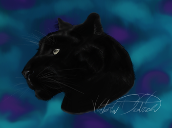 Black Panther by Tater-labyrinth