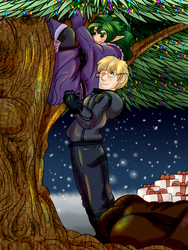 StFR Holiday Art Trade by GiaZeries
