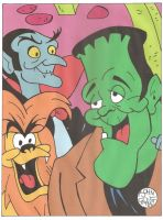 Ghostly Ghoulies Colored by Batman4art