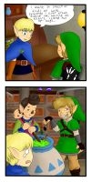 Skyward sword comic by Bjekkergauken