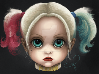 Harley Quinn (BITTY BADDIES) by jodyparmann