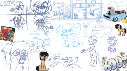 Sketch dump collection 1 by TheDkDude