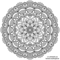 Krita Mandala 39 by WelshPixie