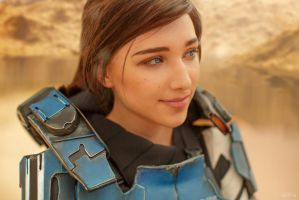 A Foundation (Mass Effect: Andromeda cosplay) 9 by niamash