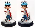 Paranorman Statue by chriswalsh