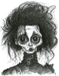 Johnny Depp as Edward Scissorhands by Caricature80