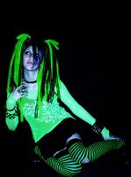 Cybergoth by emopoetgirl