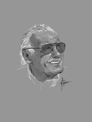 rip Stan Lee by FCee07