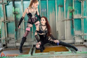 Gingerotica - Industrial Punk 03 by Gingersnap-Pixie