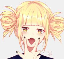 Himiko Toga (+ Video) by aikopinku