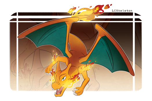Charizard by Lightcall-Skeleton
