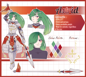 [REFERENCE SHEET] Astrid by Aiecloud