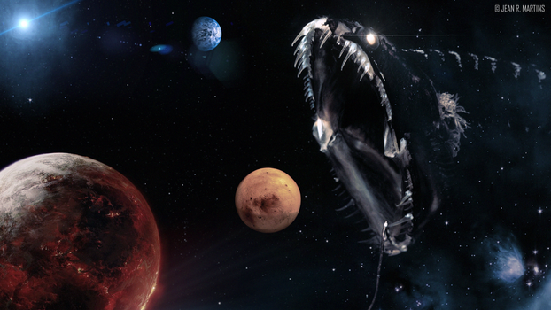 Planet Eater by iBlackrow