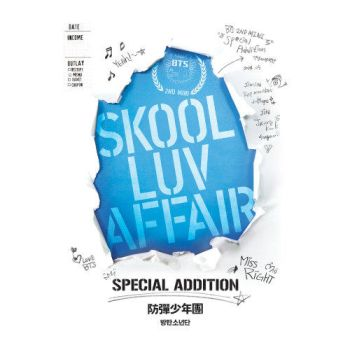 Bts - Skool Luv Affair Special Addition (repackage by criscrazy