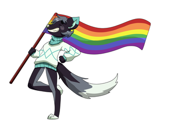 Alby's Pride [Happy Pride Month] by GurpTheDerp