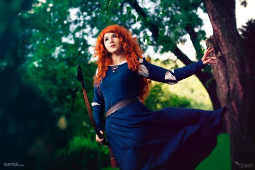 Merida - Brave by Shappi