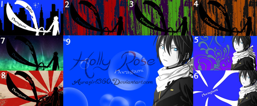 Yato Wallpapers Pack by Auragirl360