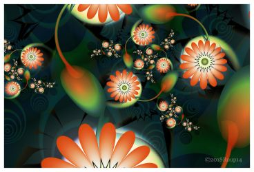Flowers n pods by roup14