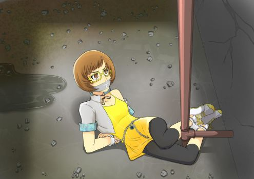 Chie and the Old Basement by LongHaired-Chihuahua