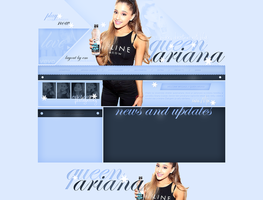 Ariana Grande Ordered Layout by lenkamason