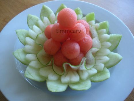 Watermelon Fruit Plate by Chuncarv