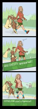 How to catch a wild Chisty by Hypnolion