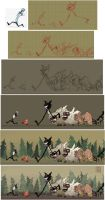 Don't Starve and Don't Die - Process by lissa-quon