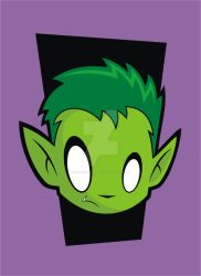 Heads Up Beast Boy 2.0 by HeadsUpStudios