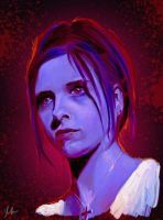 Buffy by RedSaucers