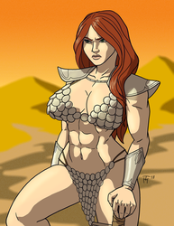 Red Sonja by Taynor-Hook