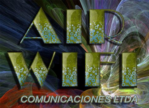Logo Air Wifi Cominicaciones by kasgds