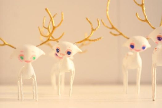 golden deers by da-bu-di-bu-da